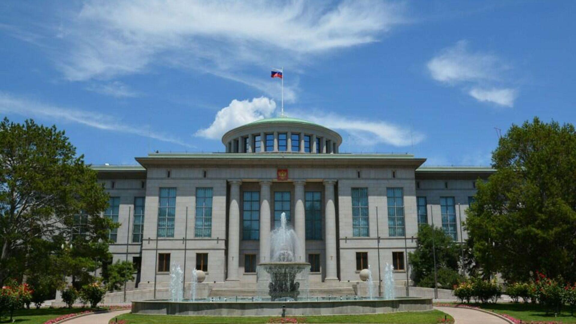 Здание посольства России в Пекине - РИА Новости, 1920, 21.07.2021