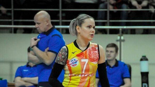 Волейболистка Енисея Светлана Крючкова