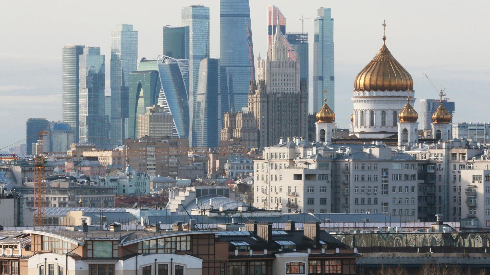 Вид Москвы - РИА Новости, 1920, 24.02.2021