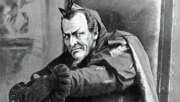 Федор Шаляпин в роли Мефистофеля