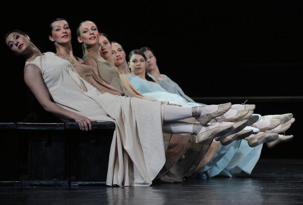 Прогон спектакля Евгений Онегин в Театре им. Вахтангова