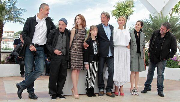Съемочная группа фильма Михаэль Кольхаас на 66-м Каннском кинофестивале