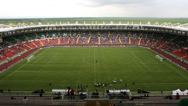 Стадион спортивного комплекса имени Ахмата-Хаджи Кадырова в Грозном