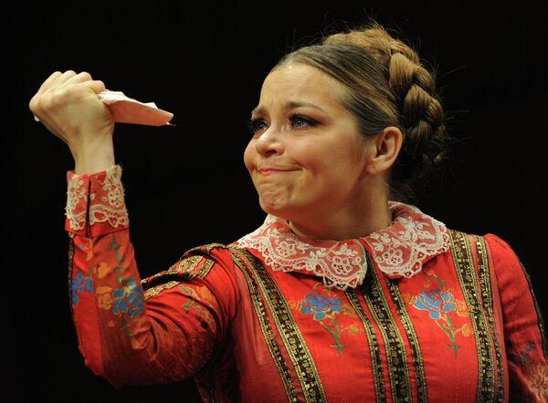 Актриса Ирина Пегова
