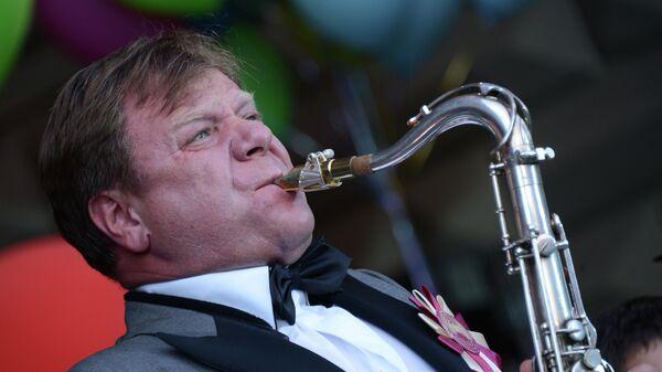 Музыкант Игорь Бутман, архивное фото