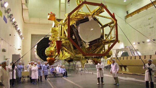 На Байконуре начались работы с межпланетной станцией Фобос-Грунт
