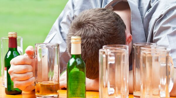 Пьянство. Архивное фото