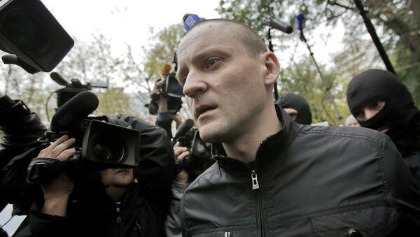 Полиция проводит обыск у Сергея Удальцова