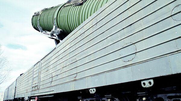 Боевой ракетный железнодорожный комплекс