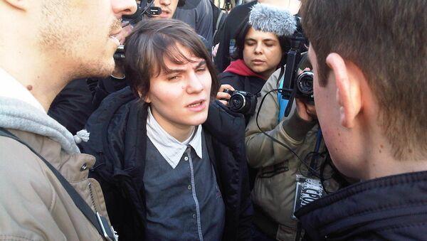 Участница панк-группы Pussy Riot Екатерина Самуцевич