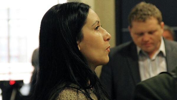 Гражданская жена Сергея Цапка Анжела-Мари Цапок. Архивное фото