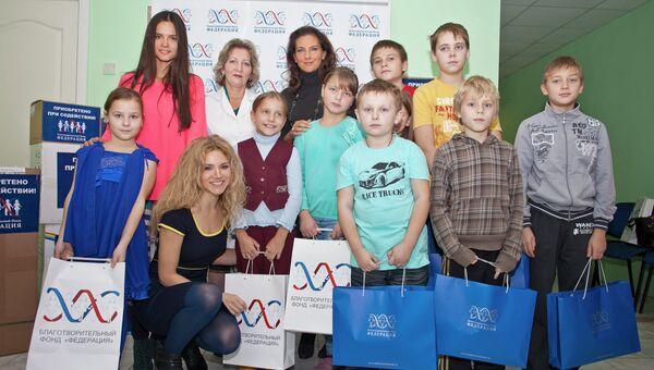 Фонд «Федерация» передал медоборудование Одинцовской детской больнице