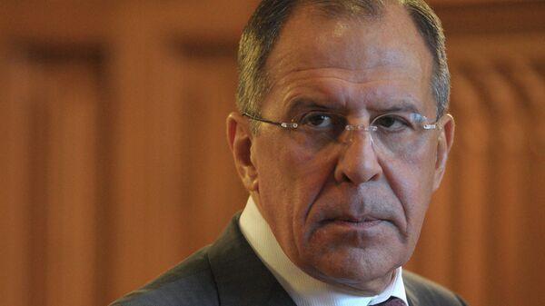 Министр иностранный дел России Сергей Лавров