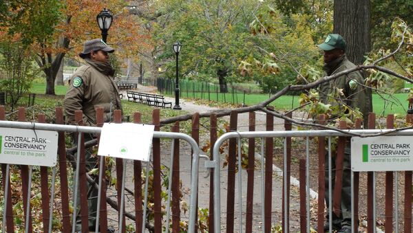 Нью-Йорк возвращается к жизни после урагана Сэнди.