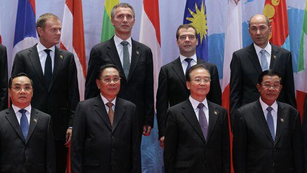 Д. Медведев принимает участие в саммите АСЕМ в Лаосе