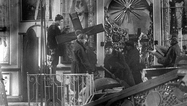 Выставка Преодоление: Русская церковь и Советская власть