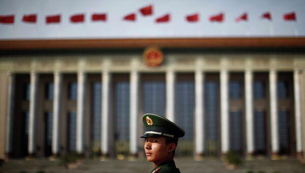 Площадь Тяньаньмэнь в Пекине. Архивное фото