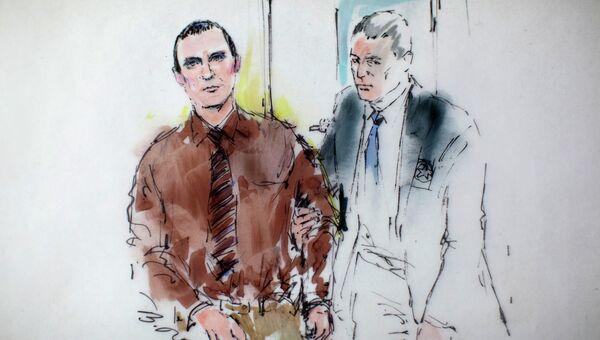 Джаред Ли Лофнер на вынесении приговора в суде штата Аризона