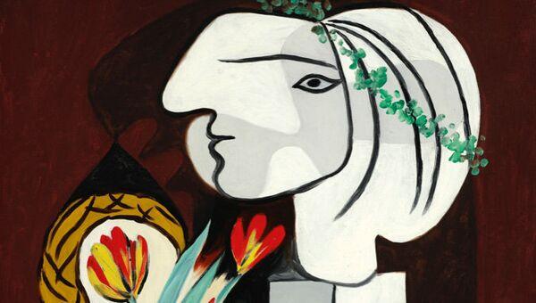 Натюрморт с тюльпанами Пабло Пикассо