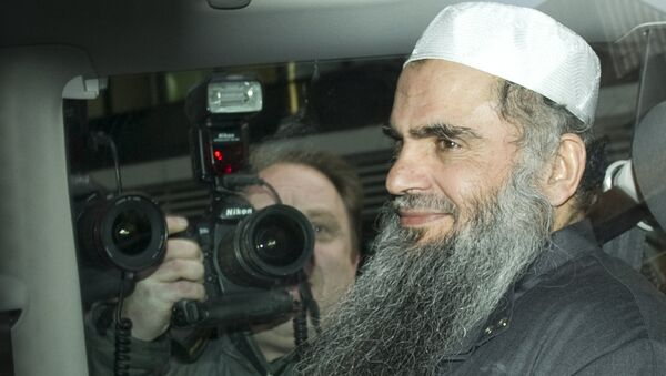 Ближайший соратник Бен Ладена, исламист Абу Катада