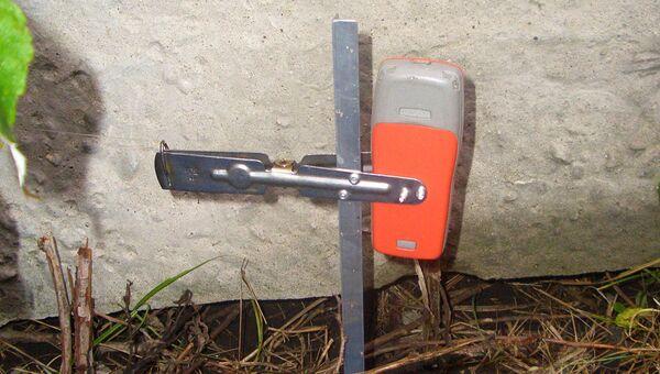 Туляки взбудоражили полицию, приняв капкан охотника-изобретателя за взрывное устройство