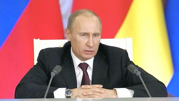 Путин о трудоустройстве уволенного министра обороны Сердюкова