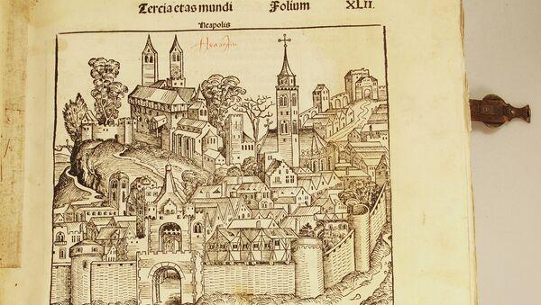 «Нюрнбергские хроники». Издание Шеделя, 1493 год