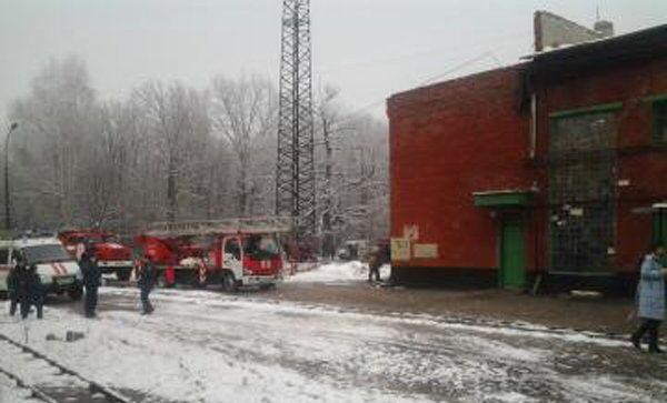 Возгорание на тамбовском пороховом заводе