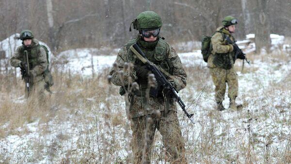 Новая боевая экипировка для военнослужащих Ратник. Архивное фото
