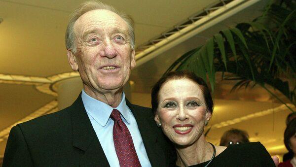 Солистка Большого театра Майя Плисецкая с супругом композитором Родионом Щедриным