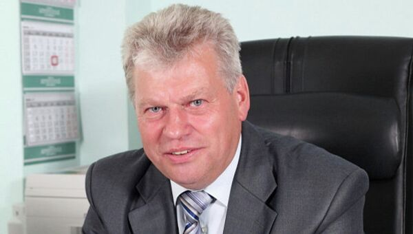 Министр социального развития, опеки и попечительства Иркутской области Владимир Родионов