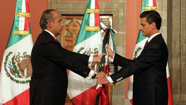 Передача полномочий новому президенту Мексики