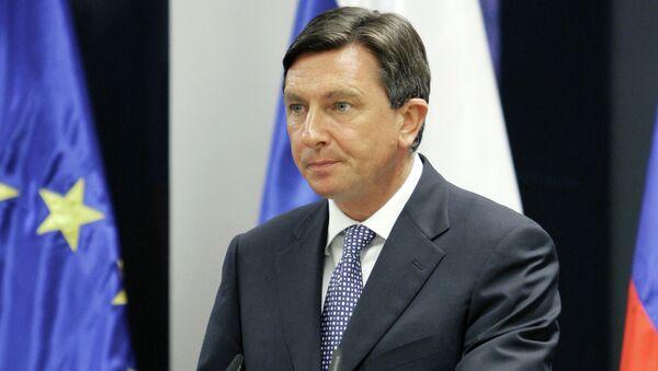 Президент Словении Борут Пахор. Архивное фото
