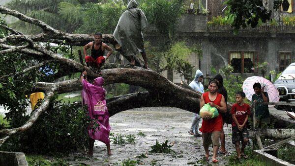 Последствия тайфуна Пабло на Филиппинах