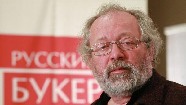 Писатель Андрей Дмитриев стал лауреатом премии Русский Букер-2012