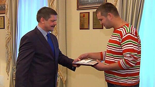Нашедшему Игната Оглезнева вручили премию и предложили работу в угрозыске