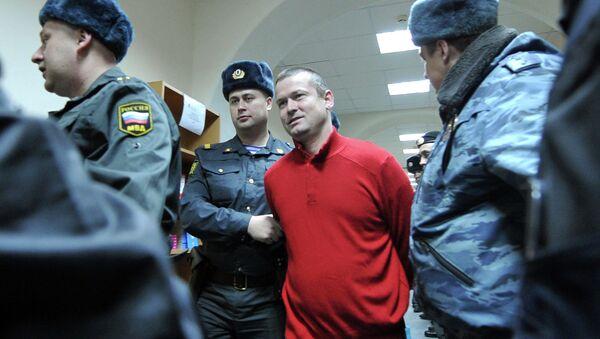 Активист Левого фронта Леонид Развозжаев, обвиняемый в подготовке массовых беспорядков