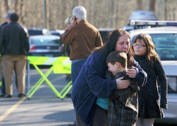 Стрельба в школе в Коннектикуте