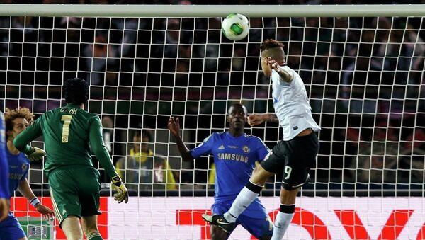 Игровой момент матча Коринтианс-Челси