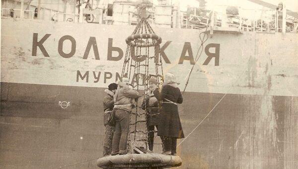 Платформа Кольская в советские годы