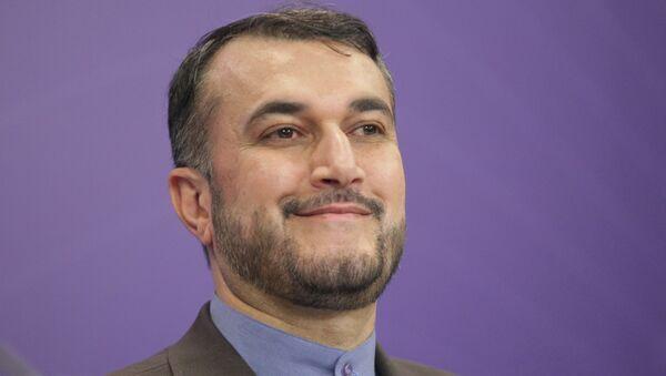 Заместитель министра иностранных дел Исламской Республики Иран Хосейн Амир Абдоллахиян. Архивное фото
