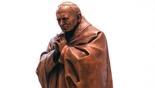 Памятник папе Римскому Иоанну Павлу II работы Зураба Церетели