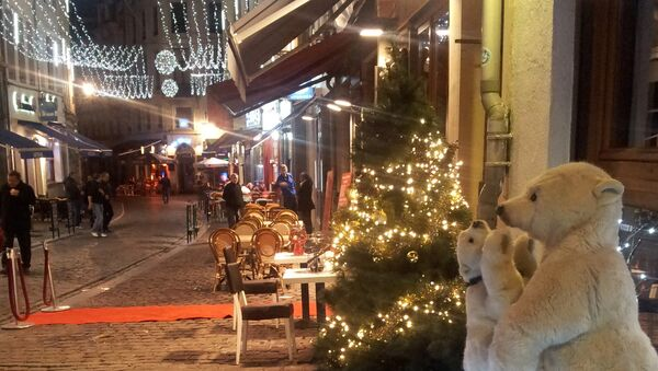 Центральные улицы Брюсселя украшены в ожидании Рождества