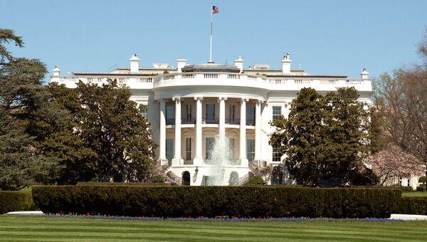 Здание белого дома в Вашингтоне, архивное фото