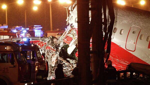 Крушение самолета Ту-204 авиакомпании Red Wings в аэропорту Внуково