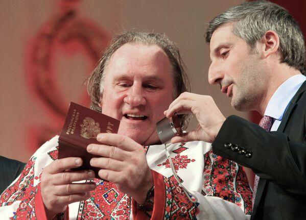 Актер Жерар Депардье посетил Саранск