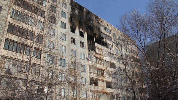 Взрыв газа в Новокузнецке