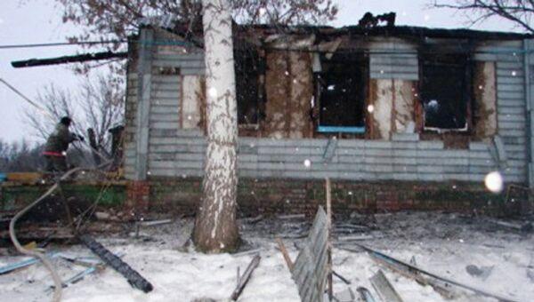 Пожар с гибелью детей в Белгородской области