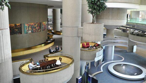 Офис General Motors в Детройте. Архивное фото