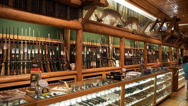 Магазин оружия в США. Архивное фото